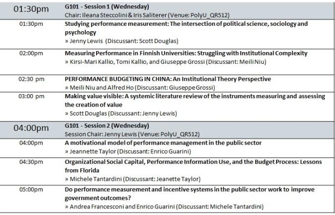 IRSPM 2016 Schedule 1